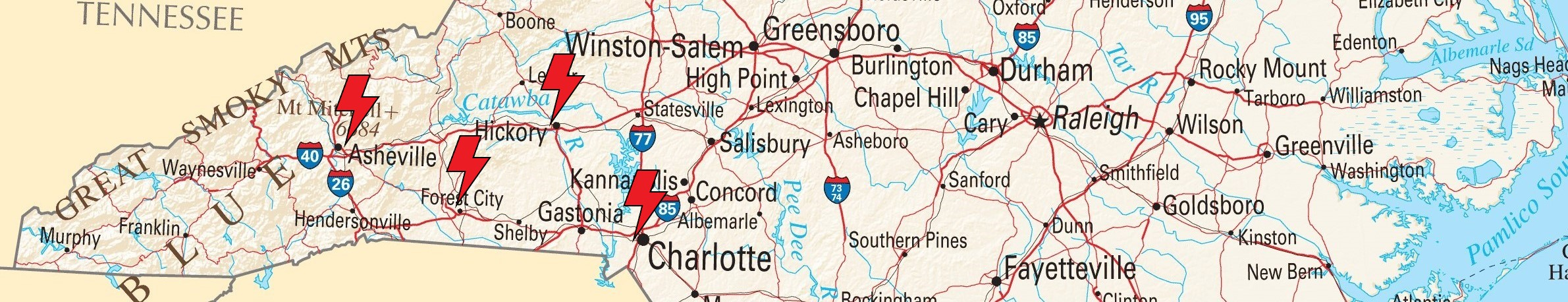 Spindale Nc Map.Contact Fountain Electric Services